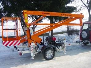 IP11-2 (pracovní výška 11m, nosnost 200 kg)