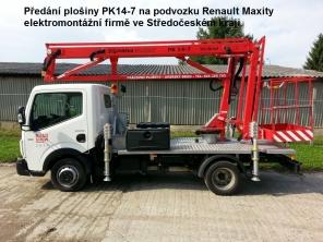 Plošina PK14-7 na podvozku Renault Maxity