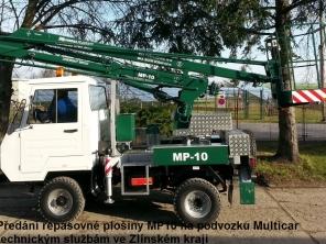Repasovaná plošina MP10 na podvozku Multicar